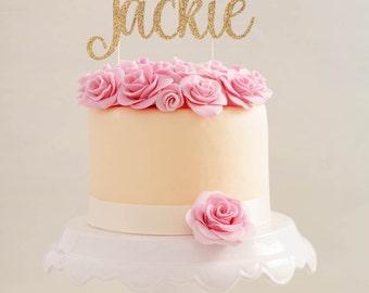 Custom Personalized Baptism Cake Topper     God Bless Cake Topper     Custom God Bless Cake Topper     Christening Cake Topper