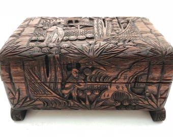 Carved Keepsake Box
