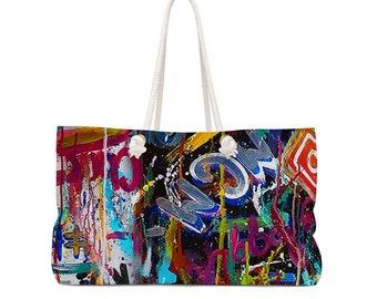 Social Media Weekender Bag