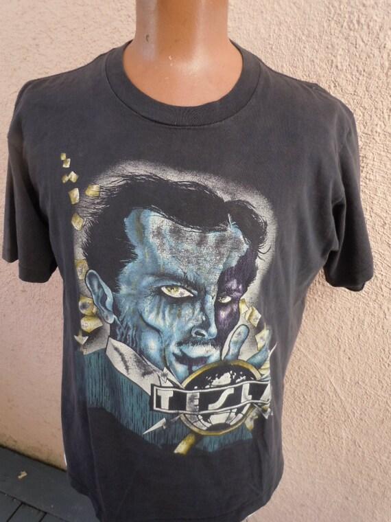 Size XL (50) ** 1990s Soulfly Concert Shirt (Double Sided) y9U0uYz