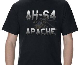 Boeing AH-64 Apache Longbow Mens T-Shirt