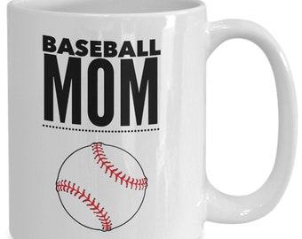 Baseball mom coffee cup