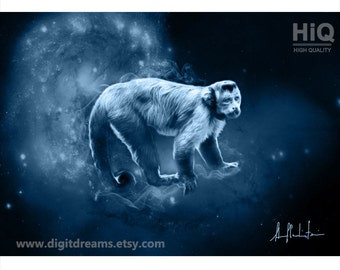 S126: Shamanic Guardians -  Capuchin Monkey