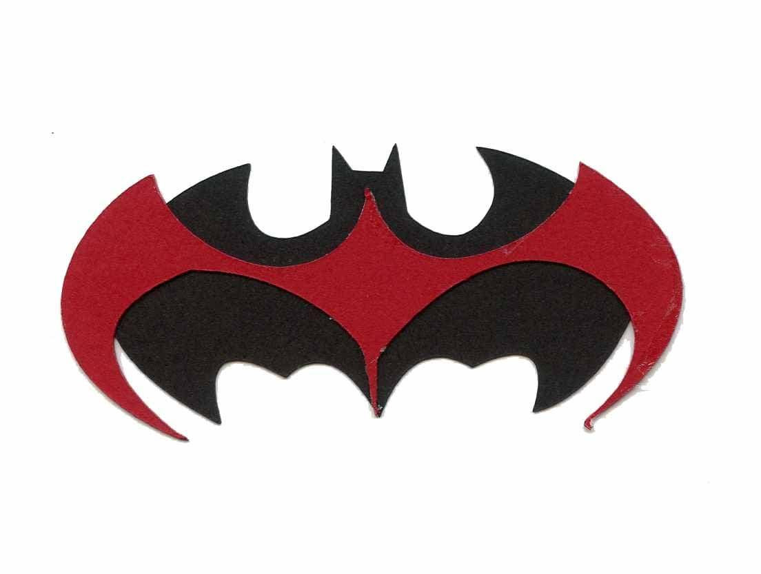 1997 batman robin symbol logo scrapbook die cut from 110 buycottarizona Gallery