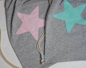 Kindergarten set-fabric bag for all-set kindergarten star application customizable