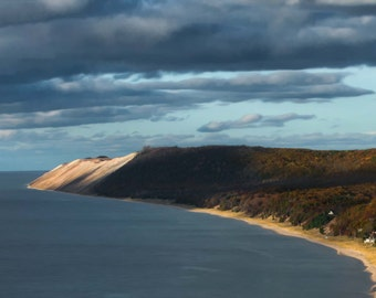 Sleeping Bear Sand Dunes Photography, Leelanau Photo, Lake Michigan Photograph, Empire, Traverse City, Leelanau, Michigan