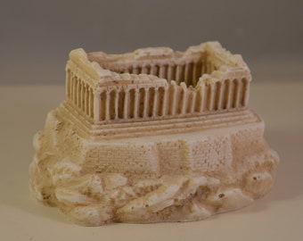 Alabaster Resin,parthenon,acropolis..miniature,statue,athens greece