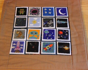 Bead-It-Forward Space Themed Quilt BIF15