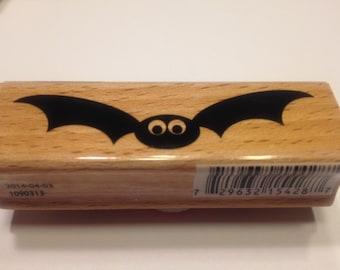large Bat rubber stamp, 70 mm (HR21)