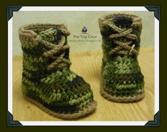 Baby Boy Boots, Baby Uggs, Baby Work Boots, Camo Boots, Camouflage Boots, Camo Baby, Camouflage Baby, Baby Boots, Baby Gift, Baby Shower