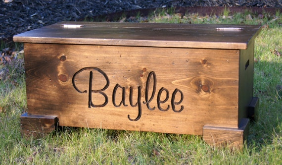 Toy Chest Toy Box Personalized Hope Chest Chest Baby Toy