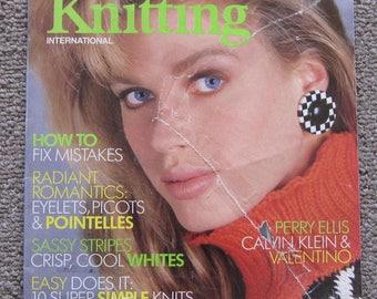 Vogue Knitting International Spring Summer 1987
