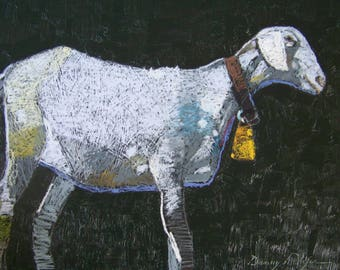 Goat / oil painting