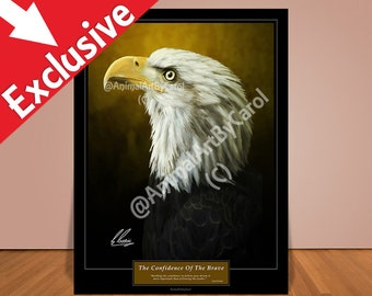 Encouragement Poster - American Eagle Art for inspiring your friends  and coworkers