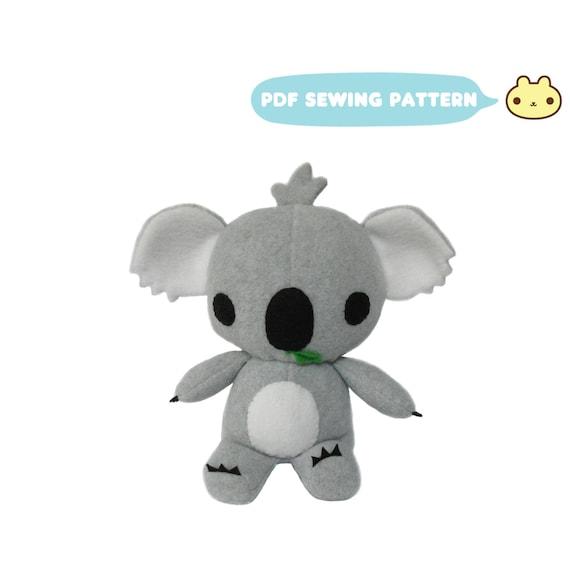 Koala Sewing Patterns, Koala Bear Toy, Koala Stuffed Animal Pattern ...