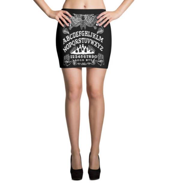 Ouija Board Mini Skirt