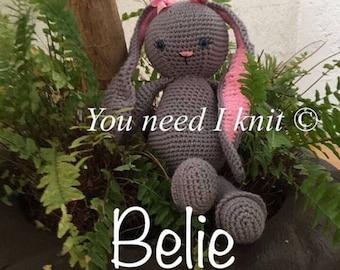 Sweet bunny amigurumi BELIE
