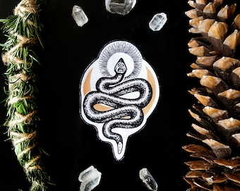 Snake Moon patch