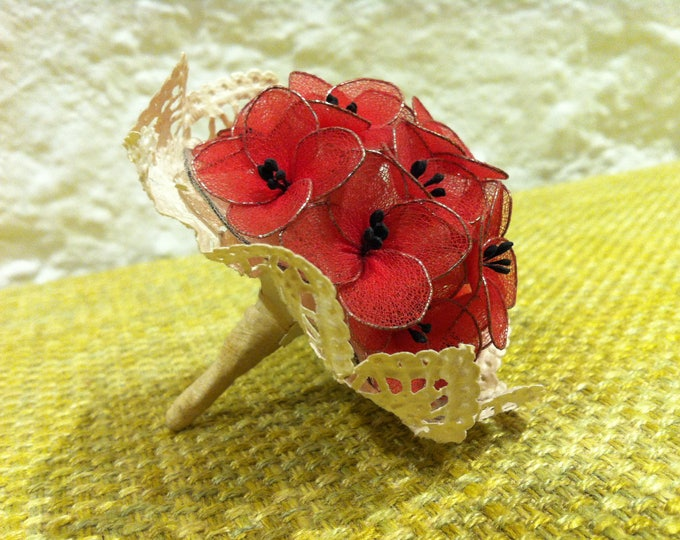 Antique bouquet Posy, miniature, doll accessories or for all kinds of