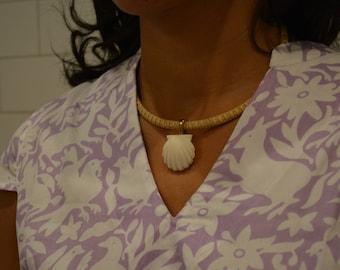 Oh Shello Nantucket Basket Necklace