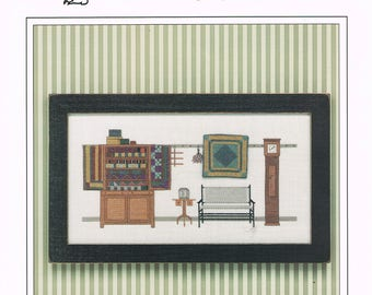 CROSS STITCH PATTERN -  Quilts Cross Stitch Patterns - Amish Quilts - Kingsland #23