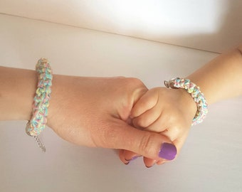 Matching Mommy and Me bracelets