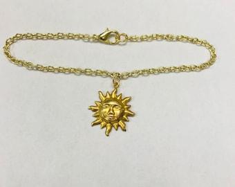 Sun Face Bracelet