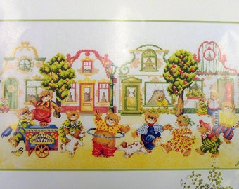 bears circus in the street lanarte life style collection 15541