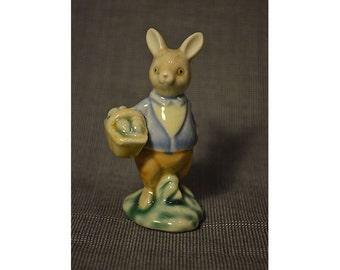vintage miniature ceramic rabbit