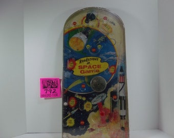 1960's Wolverine Toy Co.Rendezvous in Space Bagatelle Game.
