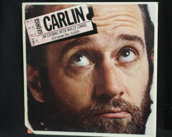 George Carlin An Evening With Wally Londo Featuring Bill Slazbo - Little David Records  1975