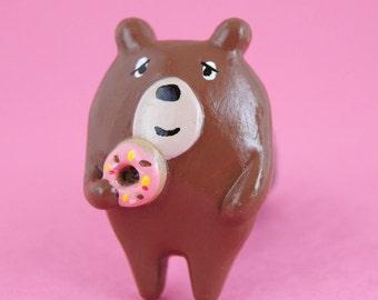 Donut Bear Brooch (009)