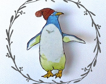 Penguin Brooch