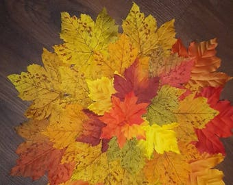 Fall leaf place mats