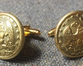 Florida Eagle Cufflinks - Confederate Uniform Buttons