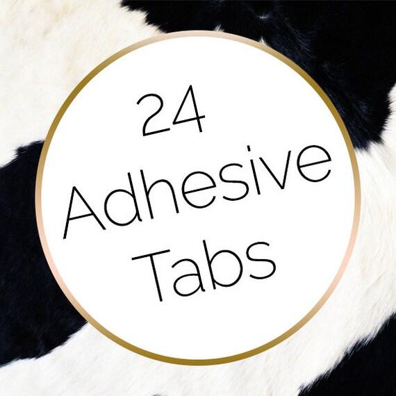 24 Press on Nail Adhesive Tabs Nail Glue Alternative Nail