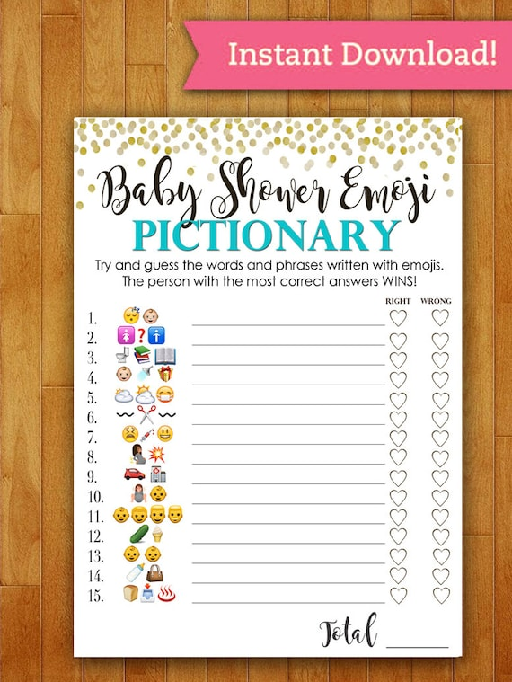 Genius image inside baby shower game free printable