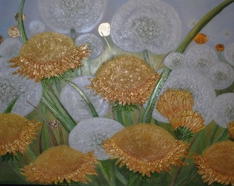 Golden Dandelions.