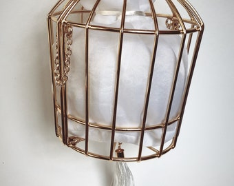 Cage bag/ clutch