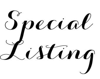 Special Listing for Katelyn