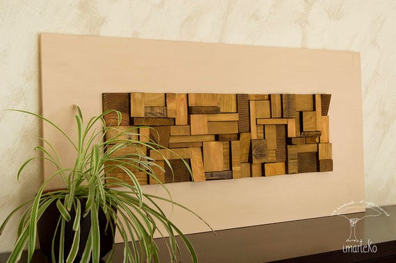 sculpture wall art reclaimed wood wall art living room