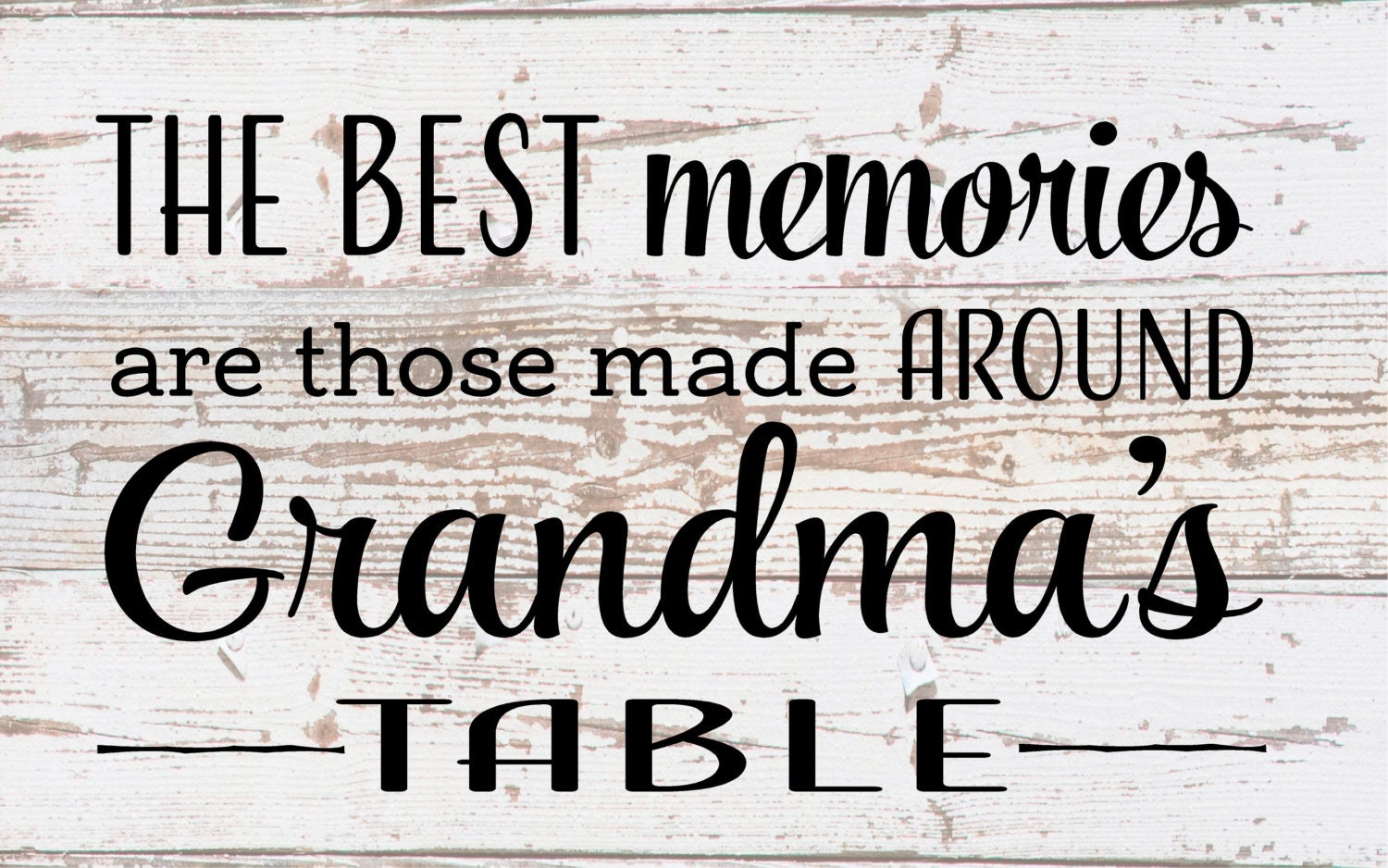 Mother\'s Day Gift - The Best Memories are Made Around Grandma\'s ...