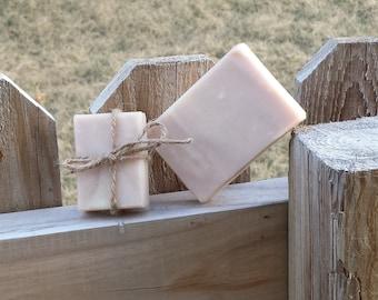 Handmade Lilac Goat's Milk Soap