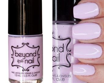 Charged Lilac Nail Polish - Soft Neon UV Reactive