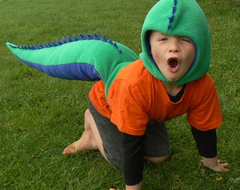 Dinosaur Costume - PDF sewing pattern & tutorial - easy to sew