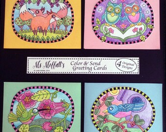 Color and Send Greeting Card Kit
