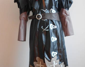 Black mage cosplay costume from Final Fantasy XIV