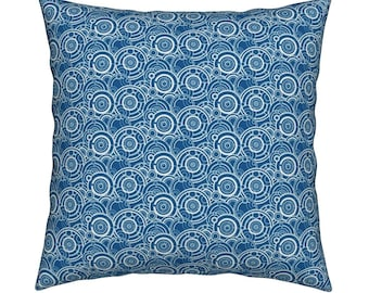 Doctor Who Gallifrey Cushion Cover-Tardis Cushion Cover