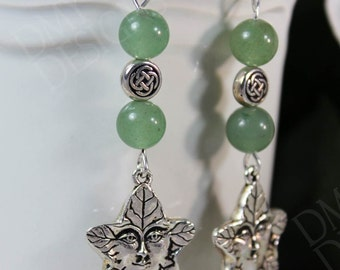 Greenman Earrings