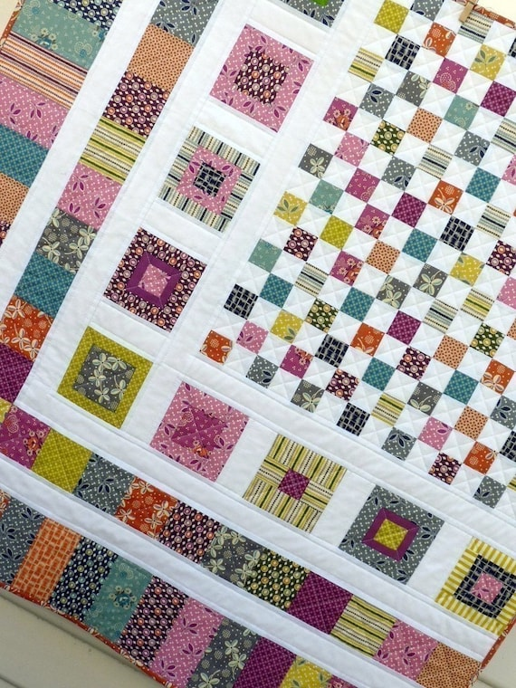 Bricks And Stones Quilt Pattern Pdf File A Red Pepper Quilts